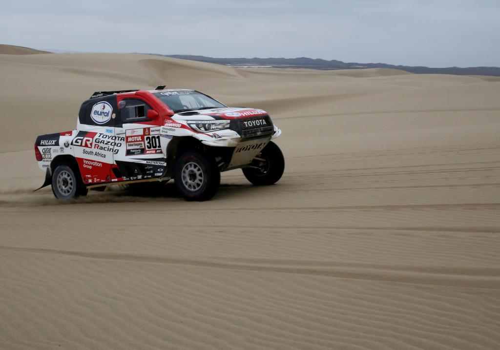 FILE PHOTO: <HIT>Dakar</HIT> Rally - 2019 Peru <HIT>Dakar</HIT> Rally - Stage 8 from San Juan de Marcona to Pisco, Peru