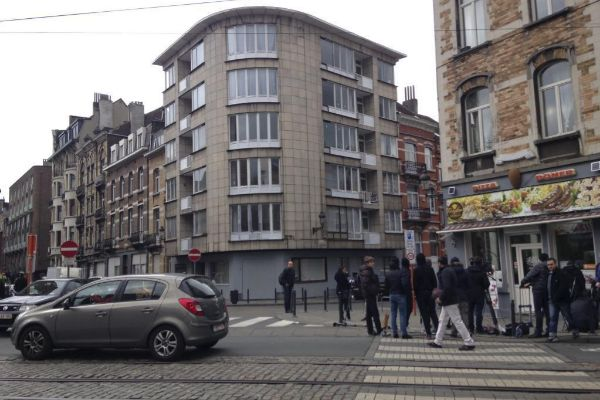 Imagen de una calle de Bruselas.
