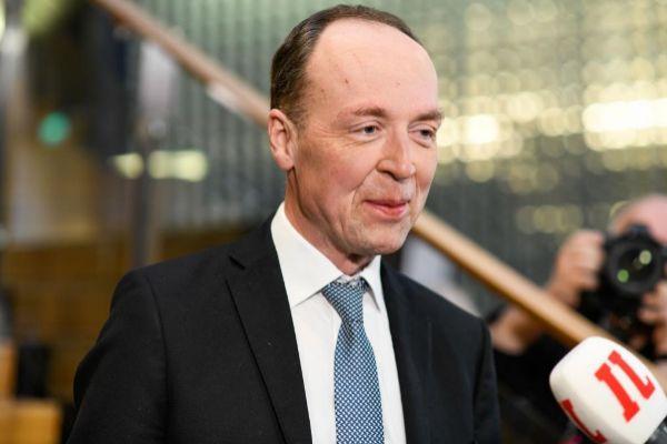 Jussi Halla-aho, líder del ultraderechista Verdaderos Finlandeses.