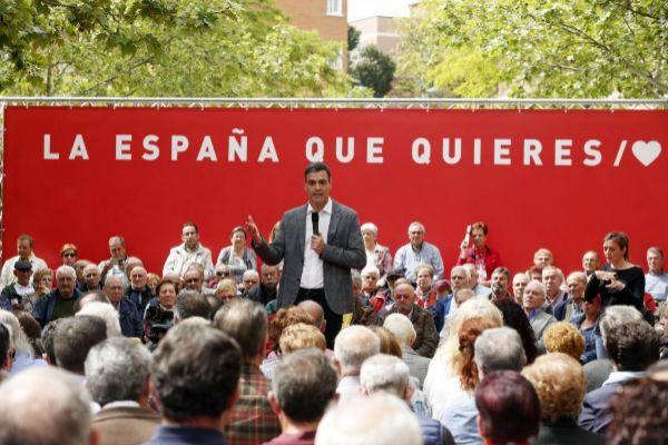 Pedro Sánchez, presidente del Gobierno y candidato del PSOE a la reelección.