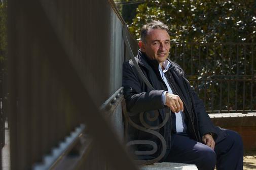 El secretario general del PCE, Enrique Santiago