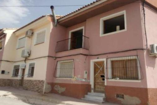 Casa donde residía 'El Perete' precintada por la Guardia Civil