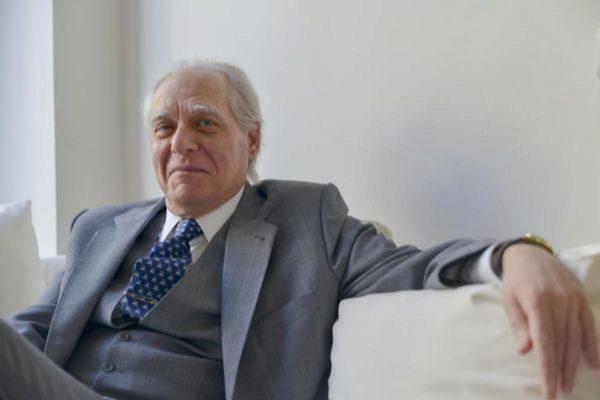 Guillermo Carnero en el Hotel de las Letras de Madrid (2017).