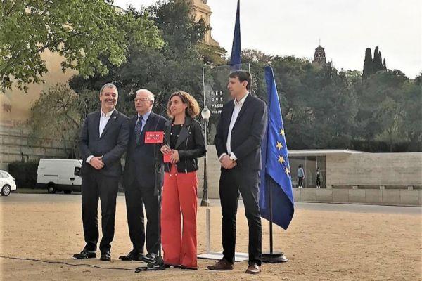 Jaume Collboni, Josep Borrell, Meritxell <HIT>Batet</HIT>, y Javi López