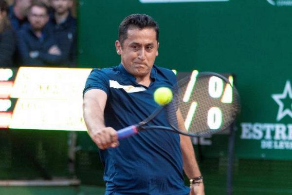 Nico Almagro, esta semana en el Challenger Murcia Open.