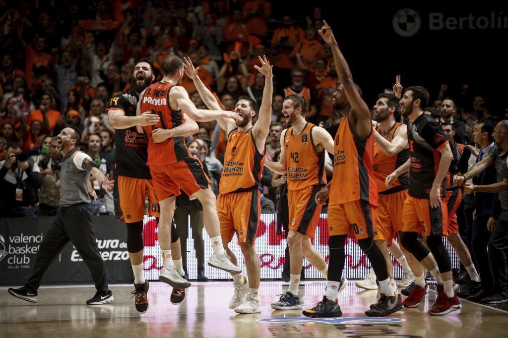 El Valencia, campeón de la Eurocu