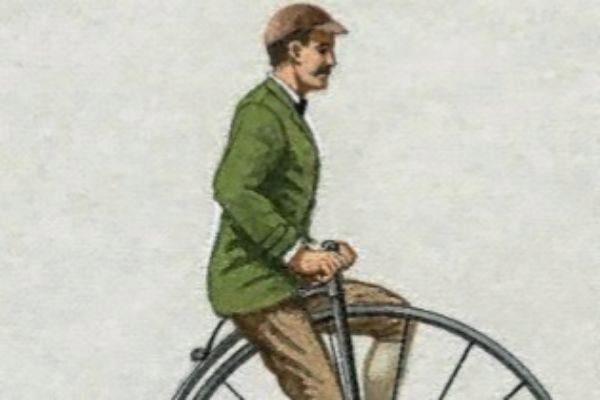 Imagen de un velocípedo.
