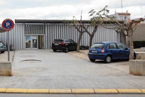Centro de salud de Moncofa.