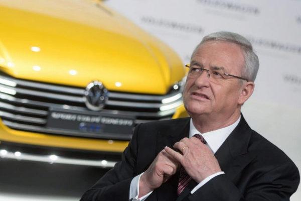 Foto de archivo del expresidente de Volkswagen Martin Winterkorn