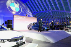 Espectacular puesta de largo del nuevo BMW Serie 3