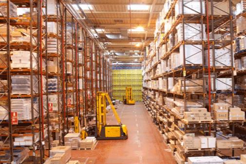 Fábrica de la papelera Adveo en España.