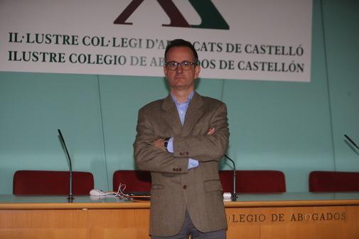 Manuel Mata fue elegido nuevo decano del Colegio de Abogados de Castellón el pasado 22 de marzo.