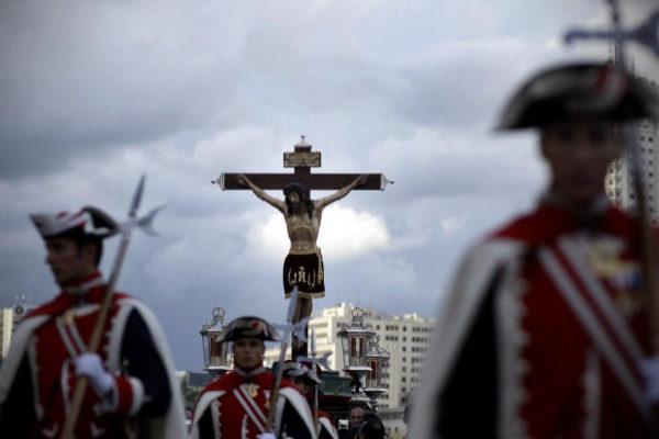 Procesión del Santísimo Cristo de los Alabarderos