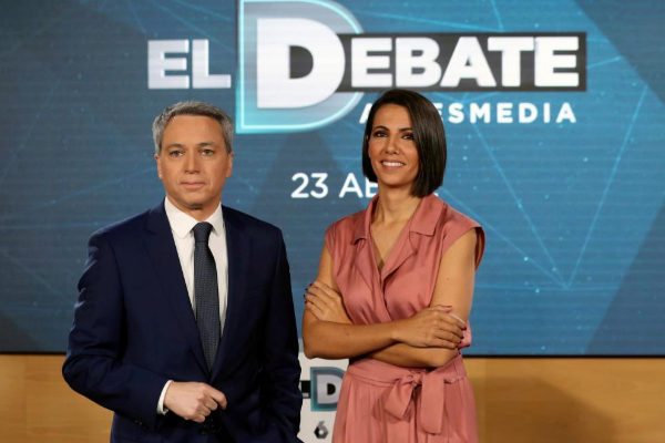 La Junta Electoral deja en suspenso el debate de Atresmedia por incluir a Vox y no a otros partidos con más representación