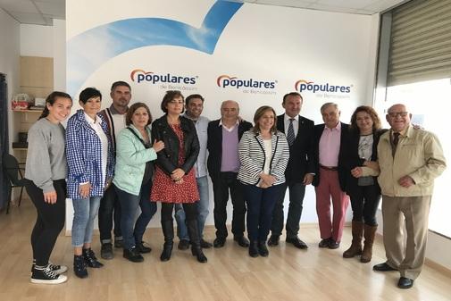 Integrantes de la lista conjunta PP-ARB para las elecciones municipales en Benicàssim.