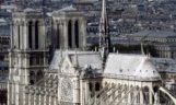 Aspecto de Notre Dame, antes del incendio.