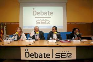 El debate de los comicios de 2016.