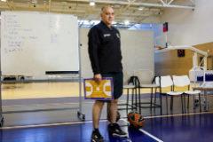 Madrid, 11 de abril de 2019. Pablo <HIT>Laso</HIT>, entrenador Del Real Madrid de Baloncesto.