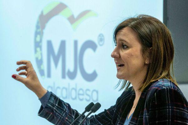 María José Català, en una rueda de prensa.