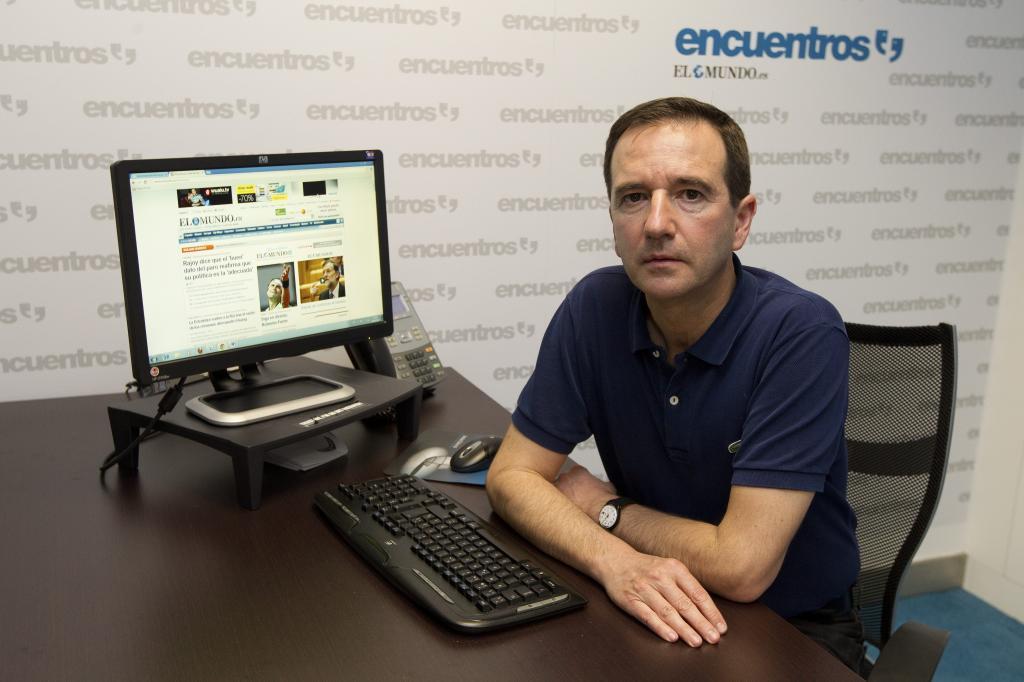 El escritor Martín Casariego.