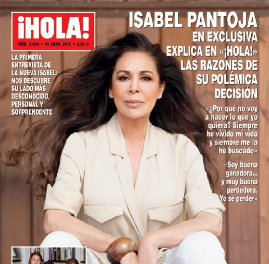 Isabel Pantoja (62) protagoniza la portada de la revista ¡Hola!. La...