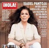 Isabel Pantoja (62) protagoniza la portada de la revista '¡Hola!'. La...