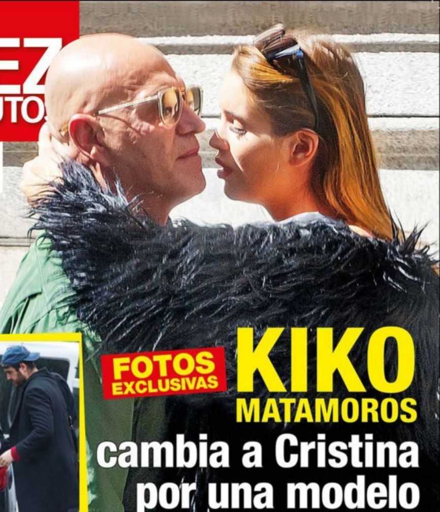 En la portada de Diez Minutos, Kiko Matamoros (62) aparece en...