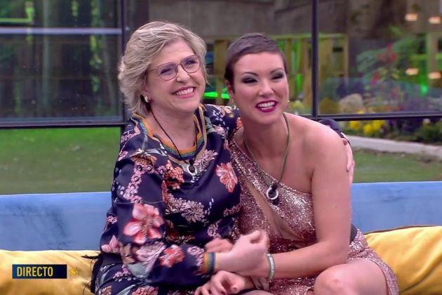 Juani Garzón y su hija María Jesús Ruiz juntas en la final de GH...
