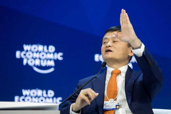 Jack Ma, fundador y presidente del Grupo Alibaba.