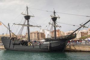 Uno de los navíos participantes en Escala Castelló.