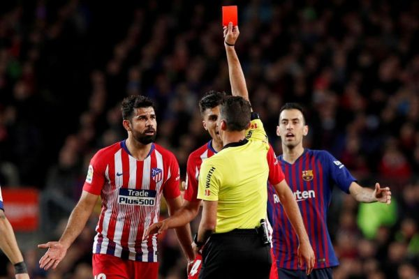 FILE PHOTO: La Liga Santander - FC Barcelona v Atletico Madrid