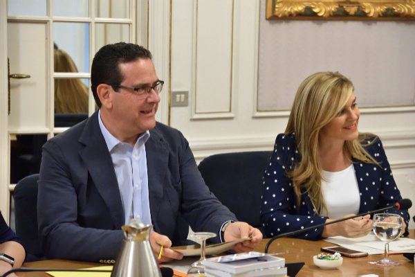 La secretaria general del Partido Popular de la Comunitat Valenciana y portavoz adjunta del Grupo Popular en Les Corts, Eva Ortiz.