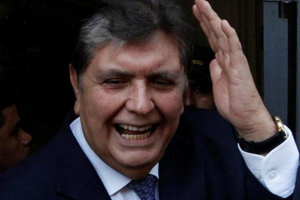Alan García, en una imagen de 2017.