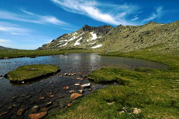La Laguna Grande de Peñalara.