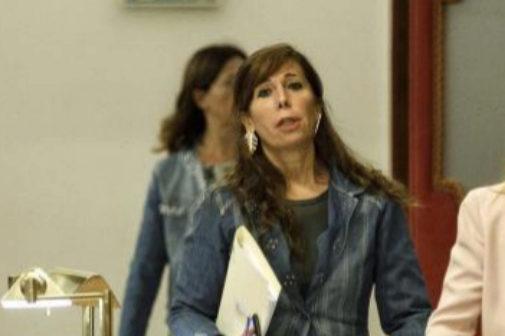 Alicia Sánchez Camacho en el Congreso de los Diputados