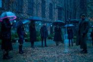 Imagen de la serie 'The Umbrella Academy'.