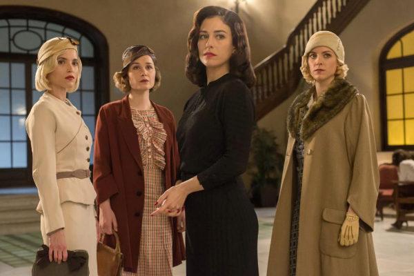 'Las chicas del cable': Ana Fernández, Nadia de Santiago, Blanca Suárez y Maggie Civantos.
