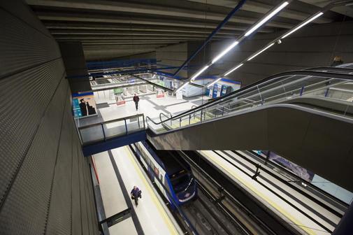 Estación de Metro de la Comunidad de Madrid