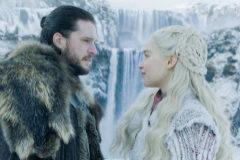 Kit Harington (Jon Nieve) y Emilia Clarke (Daenerys Targaryen)..