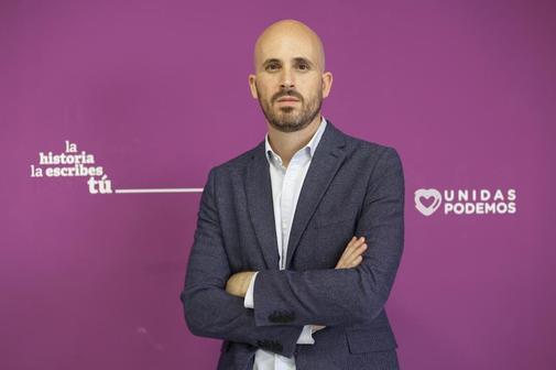 """Nacho Álvarez (Podemos): """"Proponemos 600 euros al mes a 10 millones de personas con un impuesto a grandes fortunas"""""""