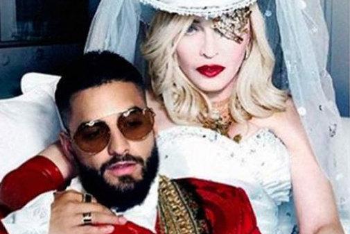 """Madonna y Maluma quieren irse """"por Detroit"""": Así es 'Medellín', el regreso latino de la Ambición Rubia"""