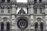 La fachada de Notre-Dame.