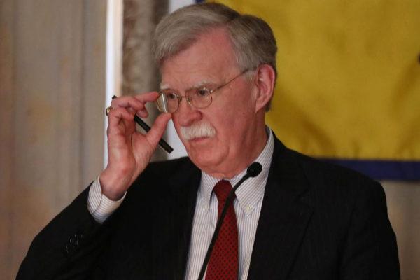 El consejero de Seguridad Nacional de EEUU, John Bolton.