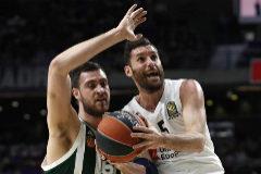 En directo, cuartos de final: R.Madrid - Panathinaikos