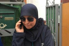 Raisha, madre del detenido en Casablanca por yihadismo.