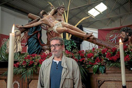 Pepe Grafiá, al museu de la Setmana Santa Marinera de València.