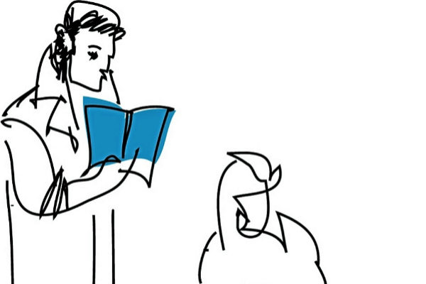Instantes en la vida de un libro