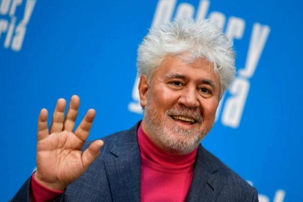 Pedro Almodóvar en el estreno de 'Dolor y gloria'.