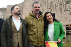 Vox elige a Rocío Monasterio para la Comunidad de Madrid y a Ortega Smith para el Ayuntamiento