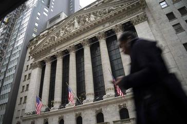 Edificio de la Bolsa de Nueva York.